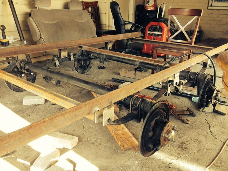 Trailer Frame Parts : Best images about diy trailer maintenance guides and