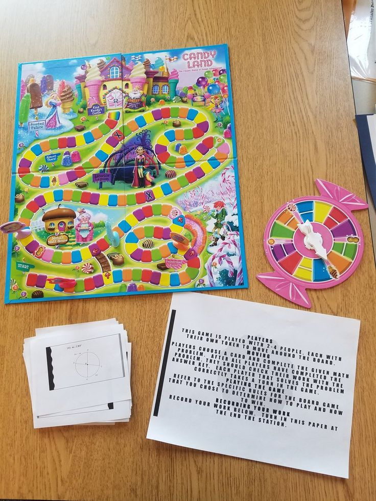 Pin by Math Teacher on Geometry Paper games, Candyland