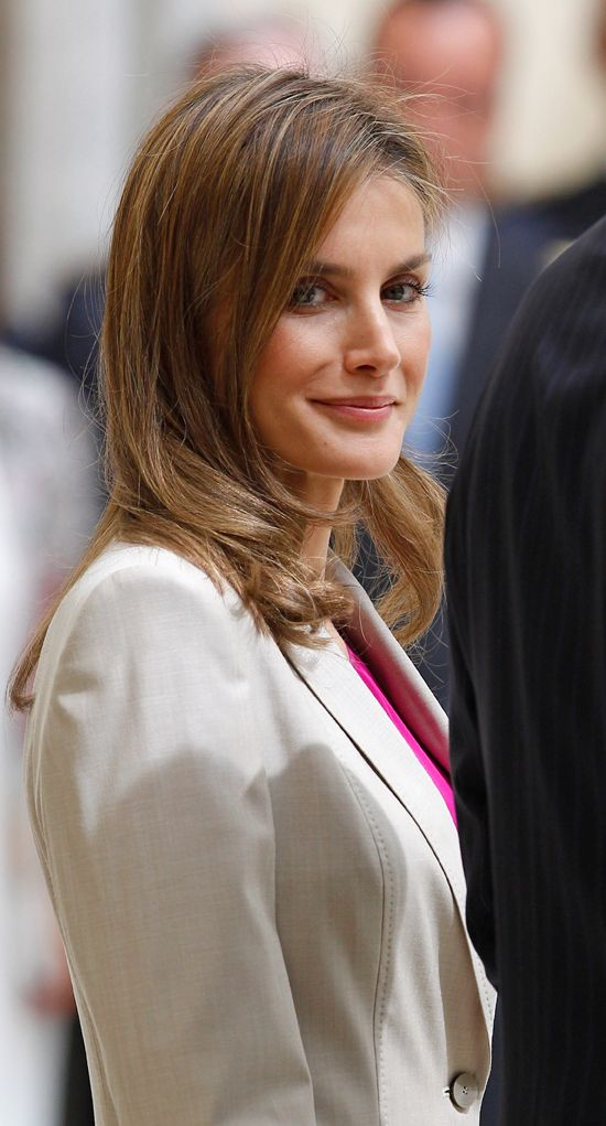 Queen Letizia of Spain July 30, 2014