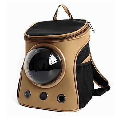 Gato Cachorro Tranportadoras e Malas Astronauta Cápsula Transportador Animais de Estimação Transportadores Portátil Respirável Sólido de 5303621 2017 por R$152,07