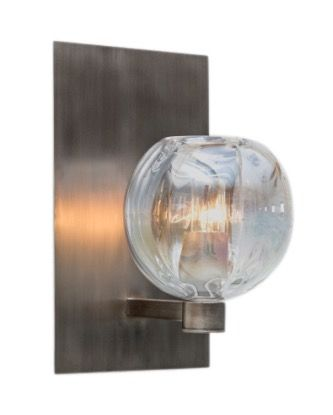 Buy Optic Marble Sconce by John Pomp - Made-to-Order designer Lighting from Dering Hall's collection of Contemporary Traditional Wall Lighting.