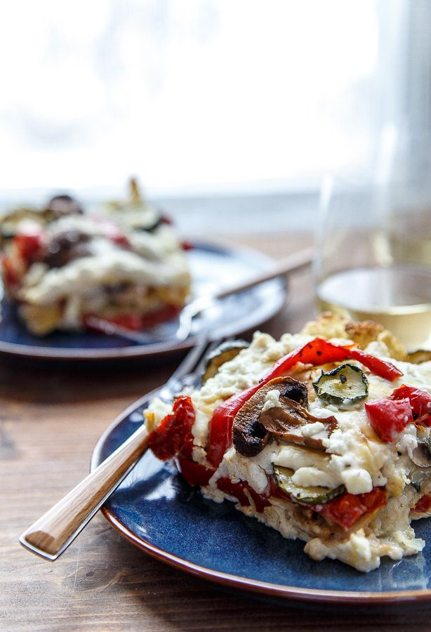 Dinner for Two: Roasted Vegetable Lasagna @FoodBlogs