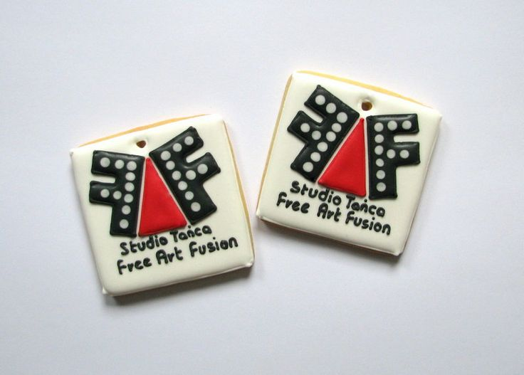 cookies with logo of company Free Art Fusion