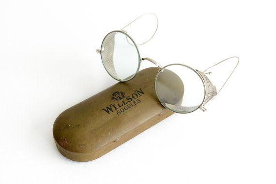 Willson occhiali Steampunk Goggle Steampunk di 2treasurehunt