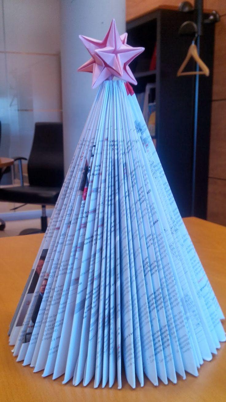 adorno navidad reciclado