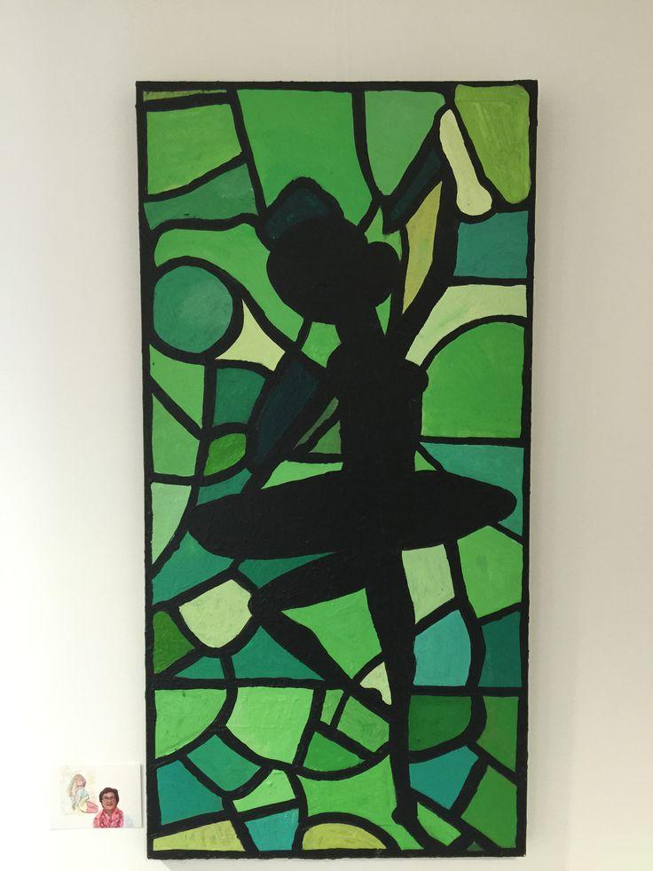 """""""De ballerina""""- S&L Zorg: Kunstsjop - Kunstatelier voor mensen met een verstandelijke beperking"""