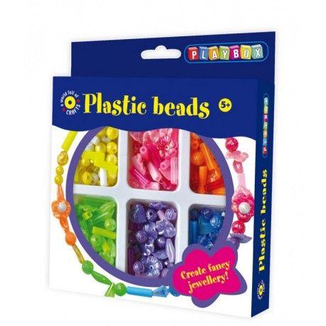 Gioco creativo giocattolo set kit bijoux con le perline di plastica