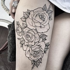 Thigh roses