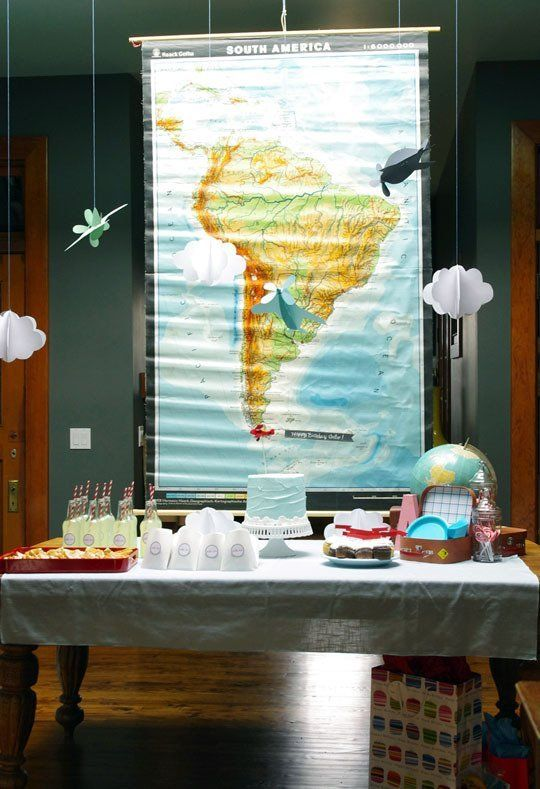 1000 ideas about deployment party on pinterest going for Aviation decoration ideas