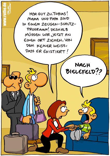 Bielefeld gibt es nicht :-D