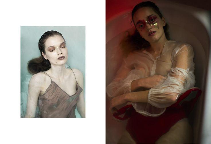 Kasia Bielska, Sezon Magazine, 'Promise I'll behave' #fashion #editoria