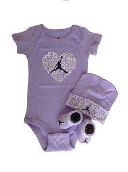 Gudang Sepatu Bayi - Nike Jordan Bayi Bayi Baru Lahir pakaian bayi 3 Pcs Set 0-6 Bulan dan Cellphone Anti-debu Plug   Pusat Sepatu Bayi Terbesar dan Terlengkap Se indonesia