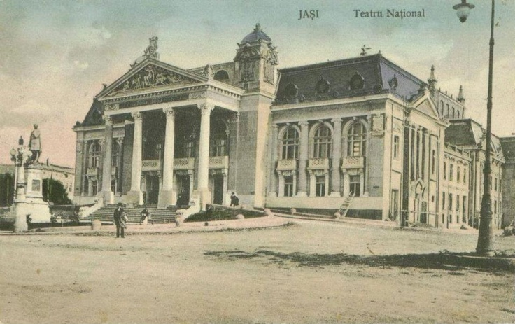 Iasi - Teatrul National - 1912: Hotels Aries, Iași Spectacular, Imagini Vechi, Teatrul National