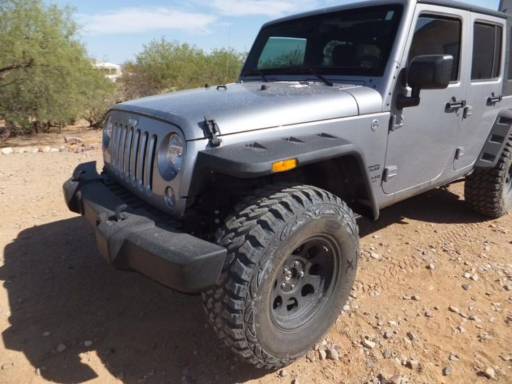 flat fenders NO lift and 35 inch tires - Page 2 - Jeep Wrangler Forum