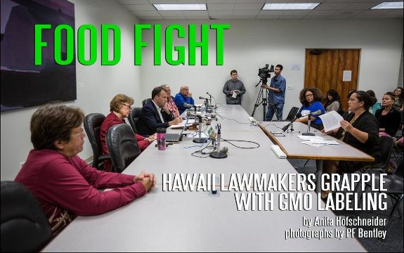 Hawaii Tries to Pass GMO Food Labeling Law with SB2736.  Go Hawaii!!