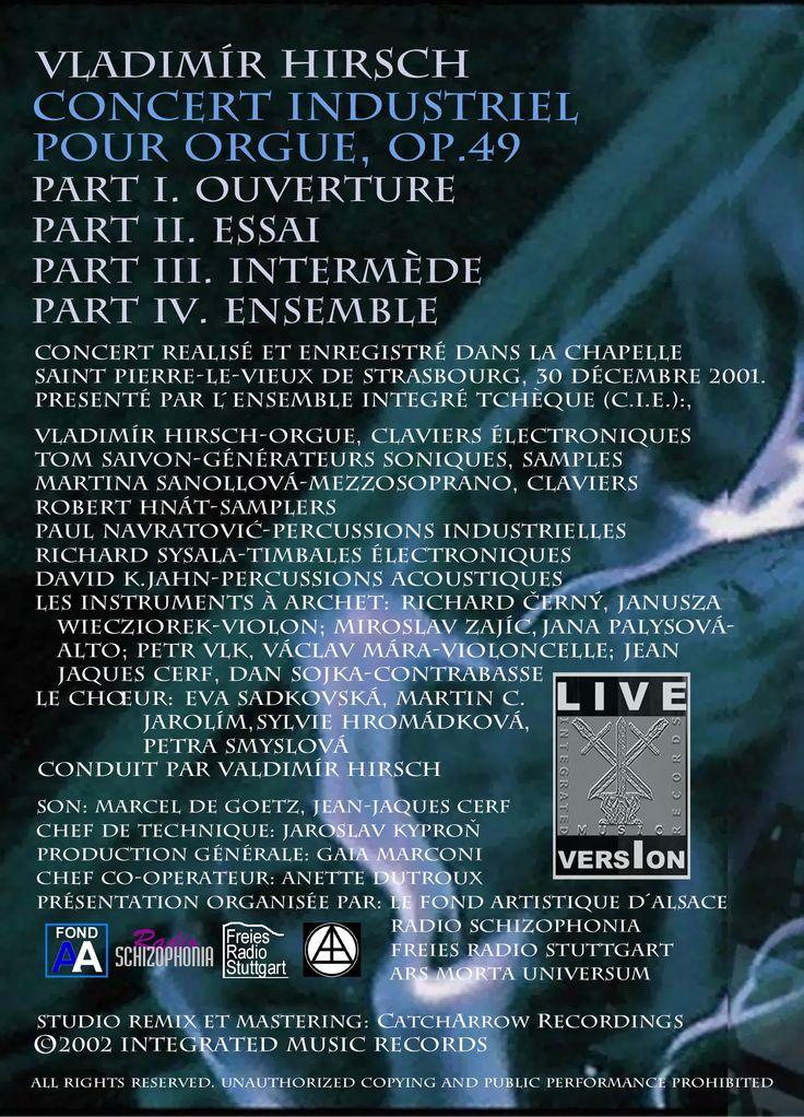 Concert industriel premier live dvd posters flyers covers pinteres - Poster style industriel ...
