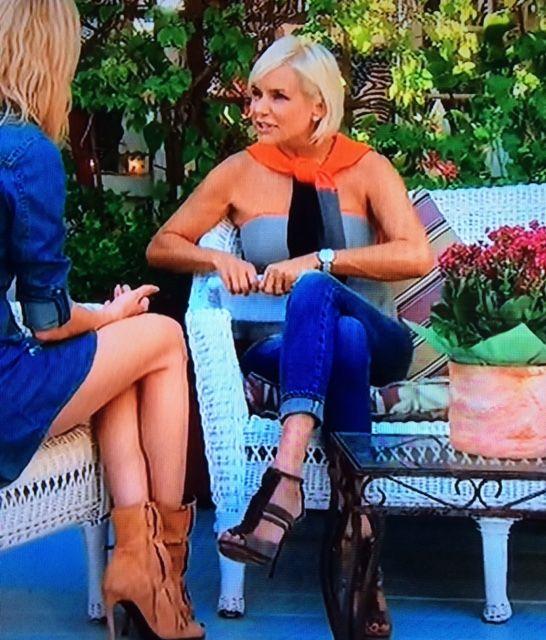 Brandi Glanville & Yolanda Fosters' Fringe Heels | Big Blonde Hair : Big Blonde Hair http://www.bigblondehair.com/real-housewives/rhobh/brandi-glanville-yolanda-fosters-fringe-heels/