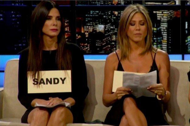 "Sandra Bullock And Jennifer Aniston Staged An Intervention On The ""Chelsea Lately"" Finale"