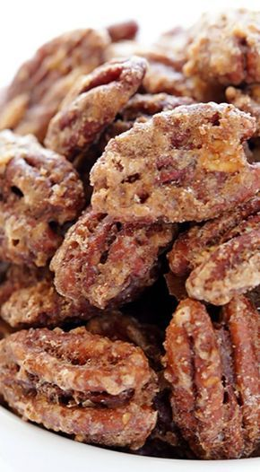 Candied Pecans ~ Only 7 ingredients and they're perfect for gifting