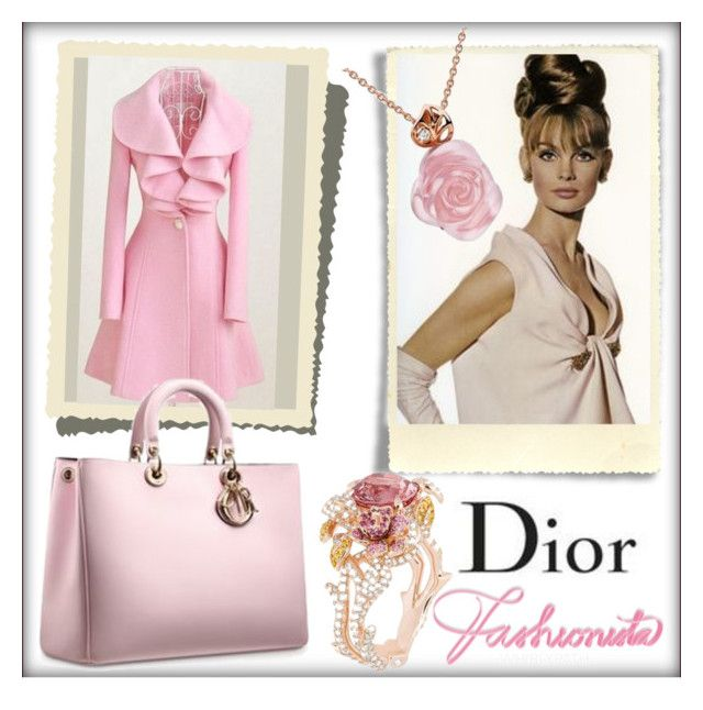Vintage Christian Dior! by whirlypath on Polyvore featuring vintage