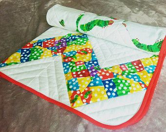 15 Best Very Hungry Caterpillar Quilts Images On Pinterest