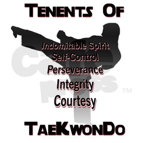 Tae Kwon Do 5 Tenents