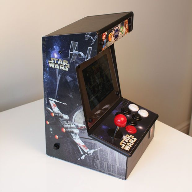 Picture of Bartop Mini Retro Arcade - Raspberry Pi and Customised Icade