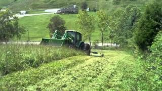FORAGE AND FORAGE MANAGEMENT: In order to keep the pastures in good shape and weeds under control I bush hog almost every winter. On a couple of our places we have goat weeds bad and so we bush hog and spray pesticide to attempt to kill them and make room for more grass to grow.