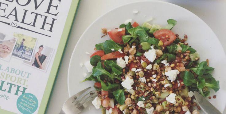 Crispy peulvruchten salade