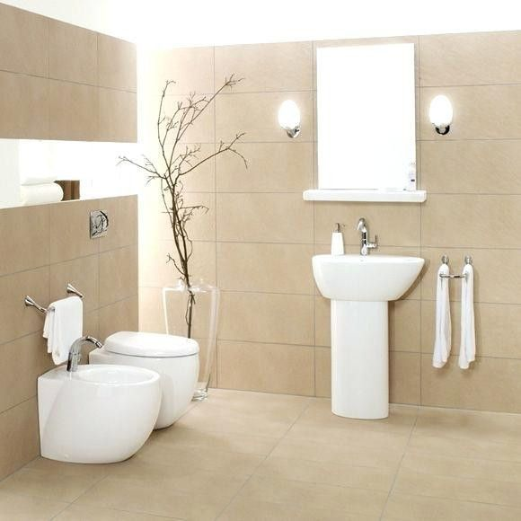 Bathroom Tiles Sand Colors Badfliesen Sandfarben Bathroom Tiles Sand Colors Home Decoration Badfliesen S In 2021 Tile Bathroom Modern Bathroom Tile Bathroom Design