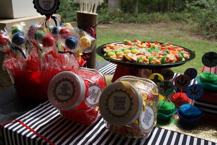 Power Rangers Birthday Party Ideas Jace Power Ranger