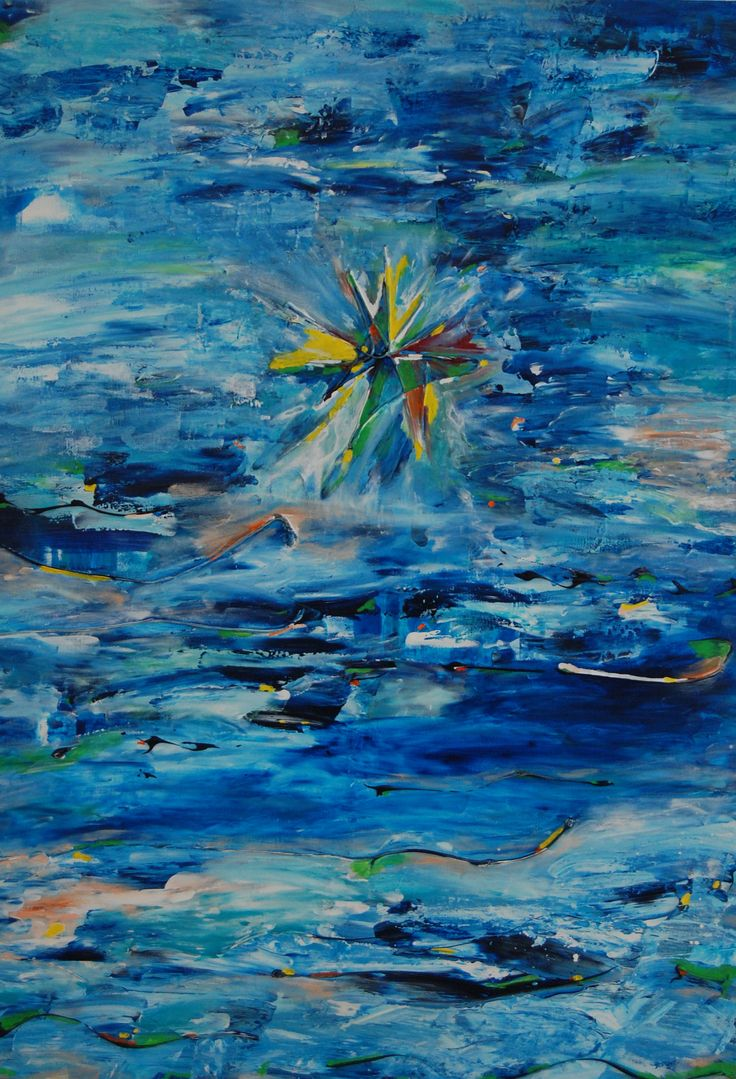 Buttefly over water - sold