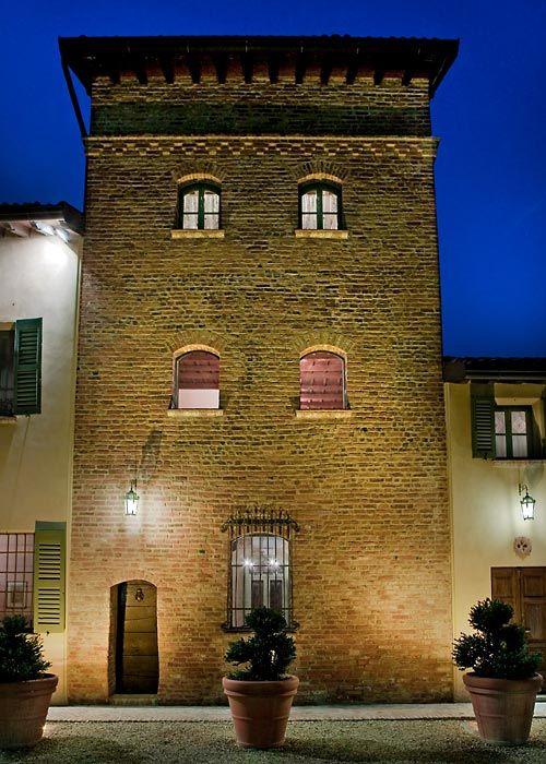 Antica Torre Viscontea - San Genesio #pavia #lombardia #italy