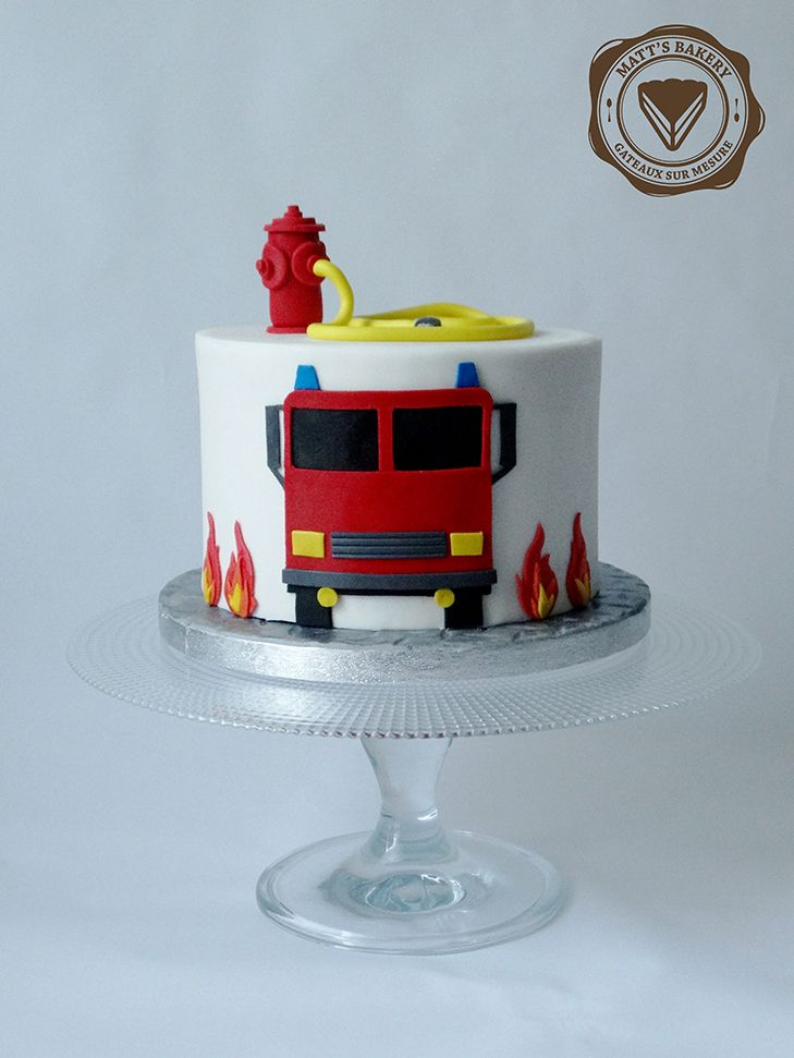 #cakedesign #angers #firetruck #fireman #birthday #cake #camion #pompier #anniversaire #gateau