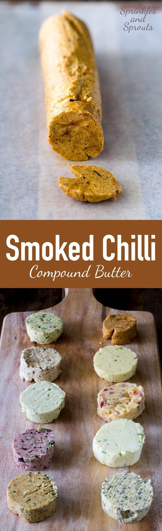 This smoked chilli compound butter wonderfully rich. It smells A-Maz-Ing…