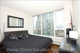 Luxurious 2-bedroom apartment located at Stadium Skytrain station and just a block or two to GM and BC Place! #Vancouver #GreaterVancouver