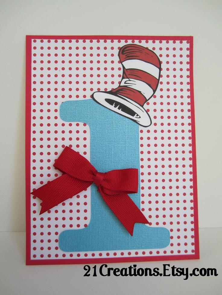 Dr. Seuss Invitations set of 25