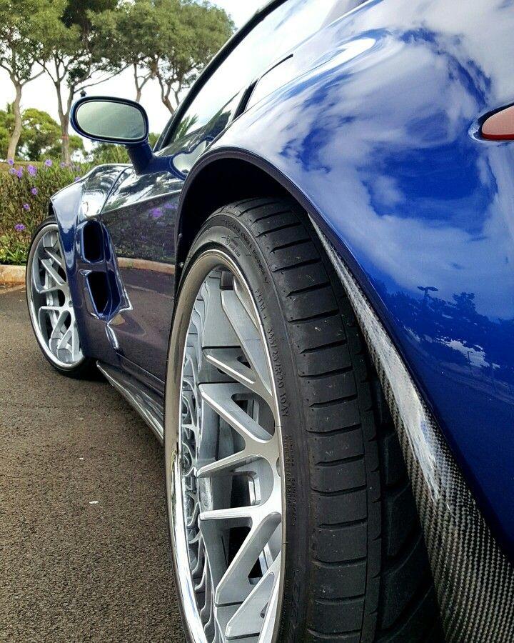 Hawaii Corvette C6 ZR8X Extreme Widebody
