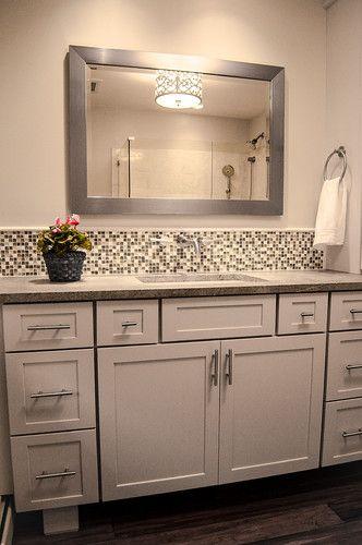 81 Best Images About Bath Backsplash Ideas On Pinterest Bathroom Ideas Backsplash Ideas And