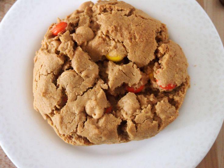 Triple-Peanut Peanut Butter Cookies Recipe — Dishmaps