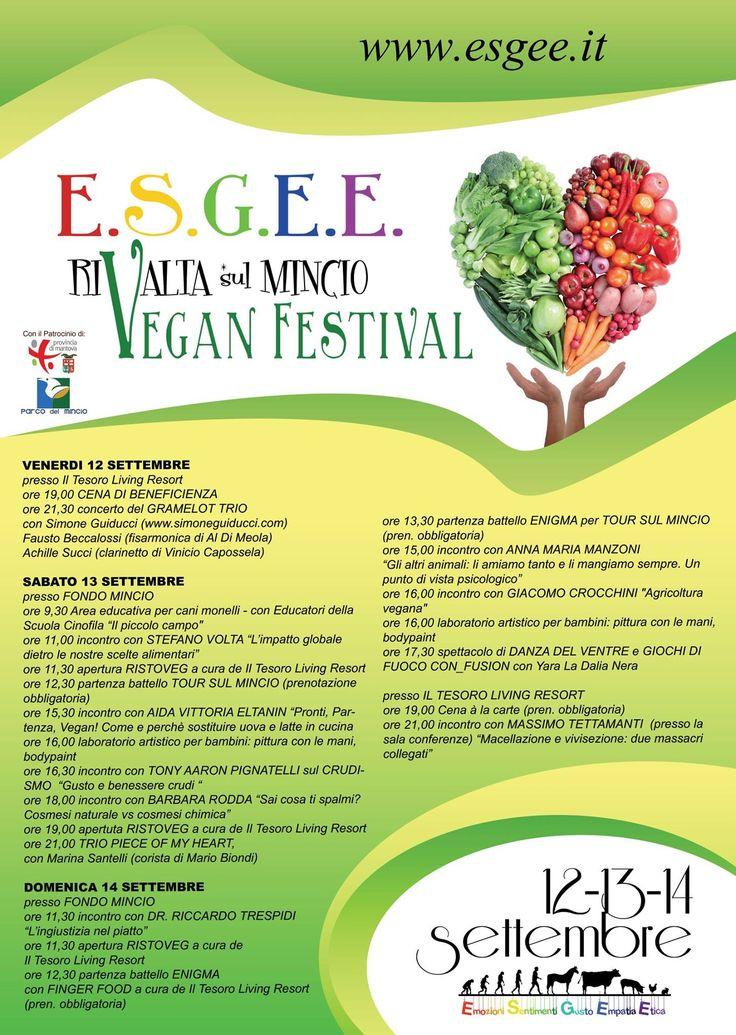 ESGEE Vegan Festival delle Emozioni 2014