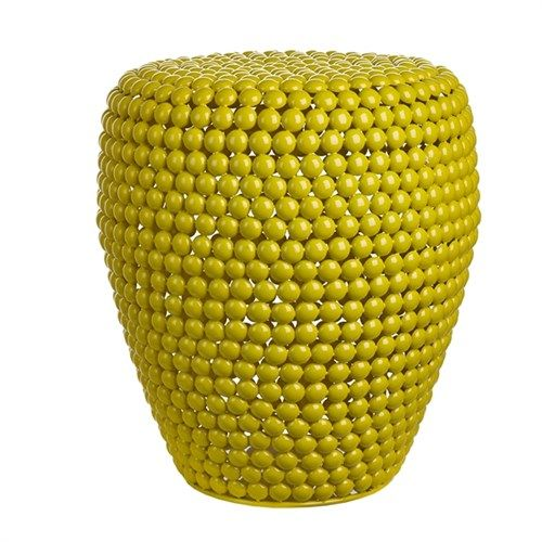 Dot stool yellow - pols potten