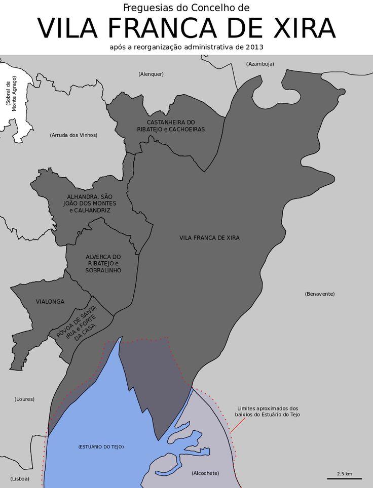 Freguesias do concelho de Vila Franca de Xira