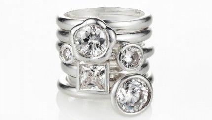Miglio's Stack Ring Collection – Haute Trend | Man I just love the stack rings. Love all things Miglio