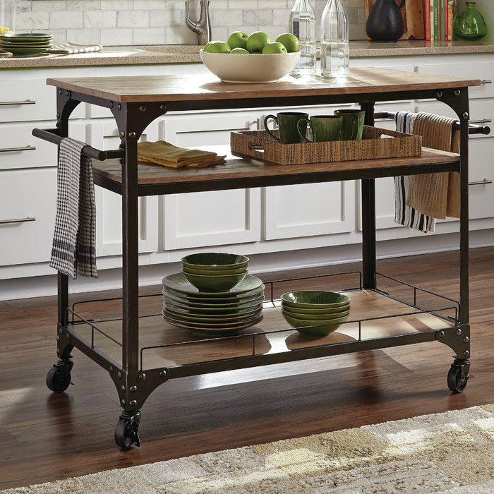 Shop Home Styles Black Scandinavian Kitchen Carts At Lowes Com: 1000+ Ideas About Kitchen Carts On Pinterest