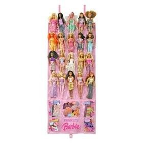 Great idea for dolls. Use an over the door shoe organizer.
