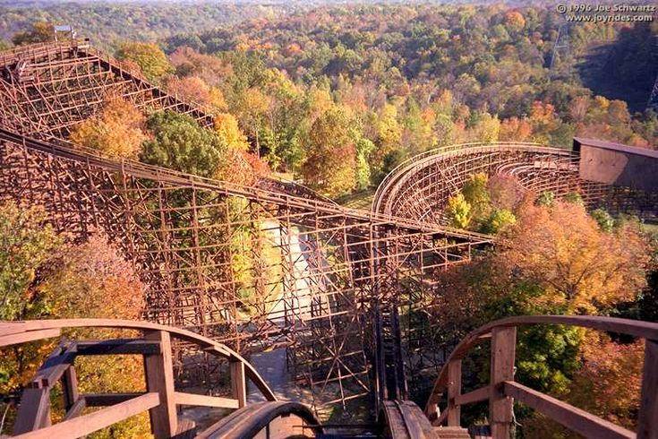 10 Roller Coasters That Changed America---- i knew that one right away :) the beast <3