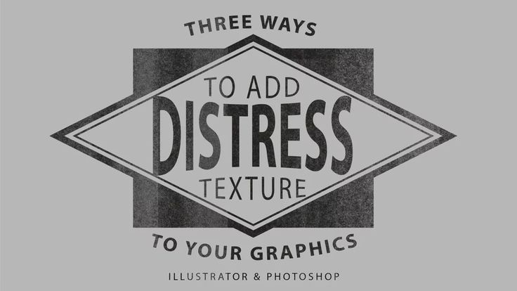 How to add vintage texture to your graphics. Here are the links mentioned in the video: Bad Photocopy Series: http://thevectorlab.com/collections/bad-photocopy-series Overspray…