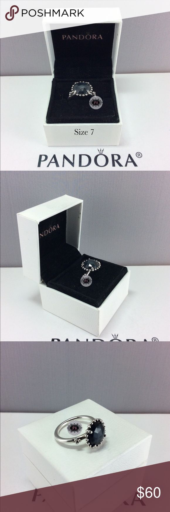 Pandora Retired Midnight Star Ring Authentic Pandora Retired Midnight Star Ring  Pandora Charms. Pandora New Charms. Pandora Retired Charms. Pandora Bracelets.  Signature markings Ale S925  Condition: Gently used   Retail: Market   🔵PRICE IS FIRM UNLESS BUNDLED  ⚫️NOT ACCEPTING LOWBALL OFFERS!!! 📦BOX INCLUDED IN THE SALE Pandora Jewelry Rings
