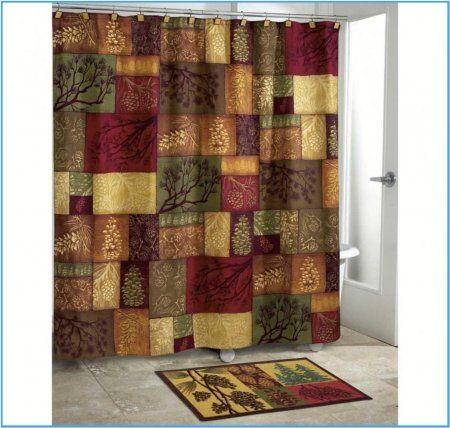 bathroom curtain sets